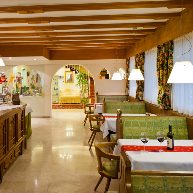 Hotel Aster Meran, Frühstücksraum