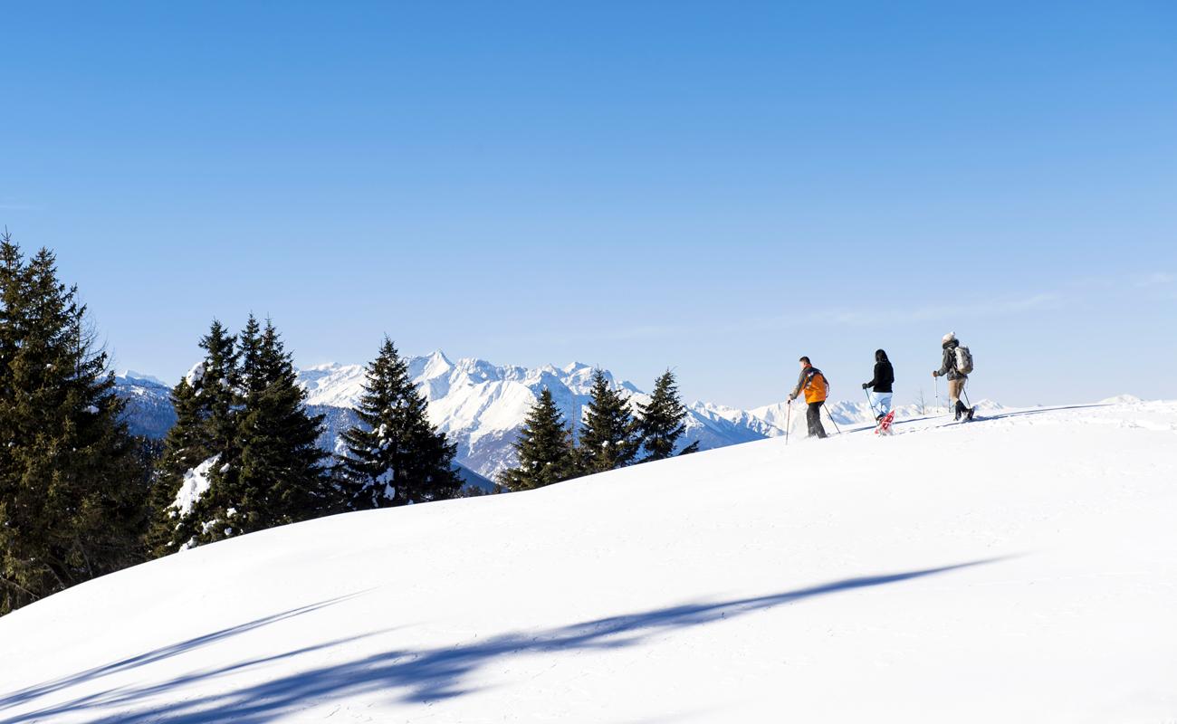 Schneeschuhwandern in Meran und Umgebung