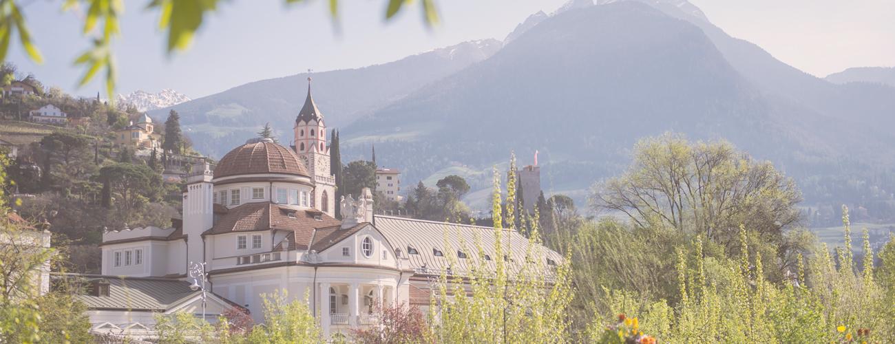 Anfahrt nach Meran in Südtirol